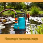 Насосы для перекачки воды